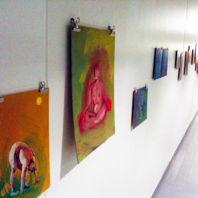 lahtoviivalla, s-galleria, helsinki, exhibition