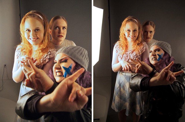 Teatteri Kiilas: Kuppikakkuja PR-shoot 2015
