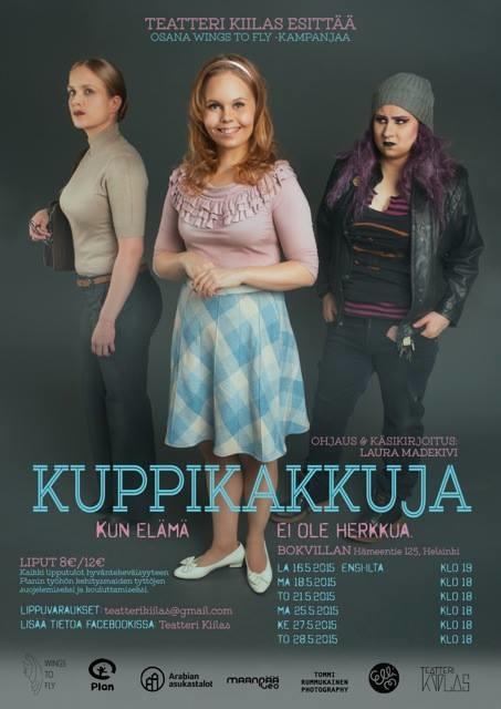 Kuppikakkuja, Teatteri Kiilas, Elli Maanpää