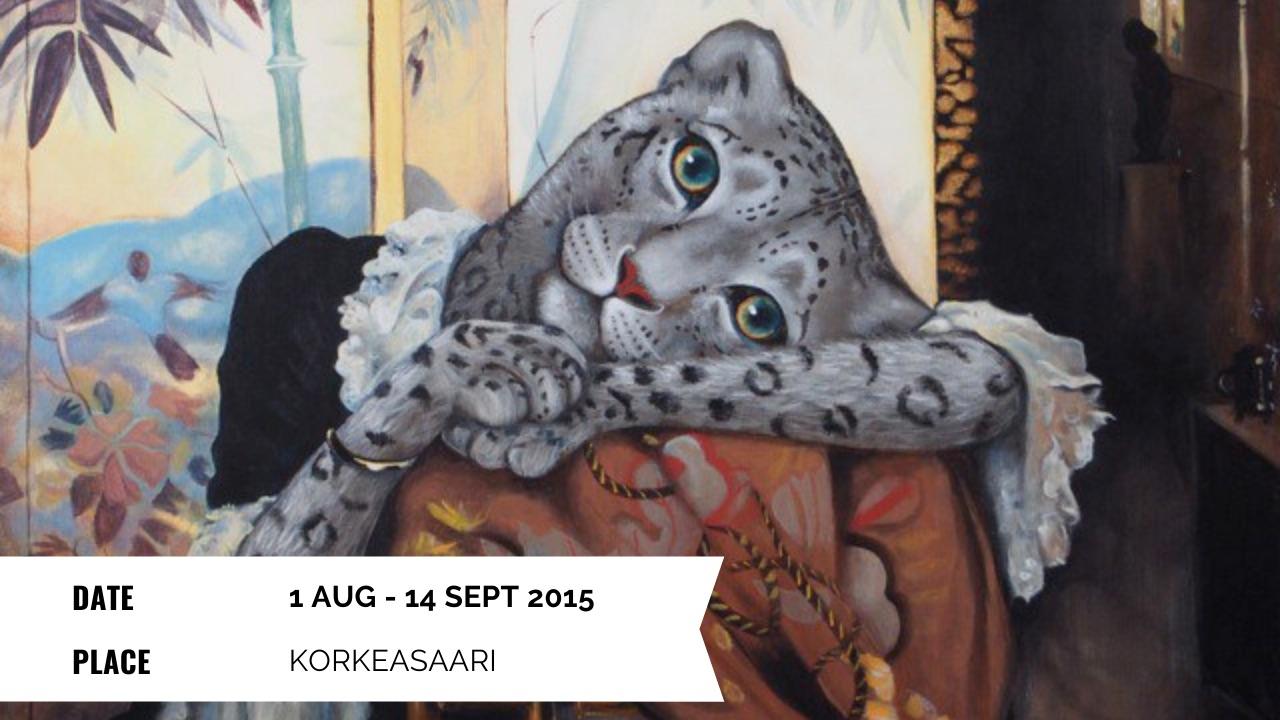 Exhibition - Elli Maanpää: Uhanalaiset (Eng. Endangered) - 1 Aug - 14 Aug 2015 - Korkeasaari, Helsinki, Finland