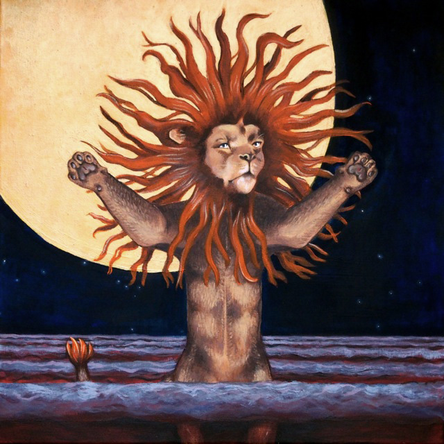 Uhanalaiset_Ad-Leo-Astra_painting_elli-maanpaa_2015_10