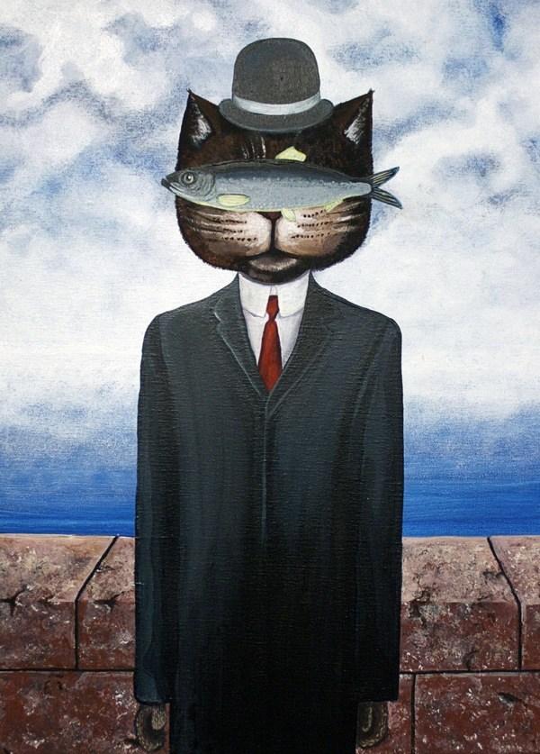 Elli Maanpää Art - CATISM: Kitten of a Cat - 40cm x 50cm - 2012