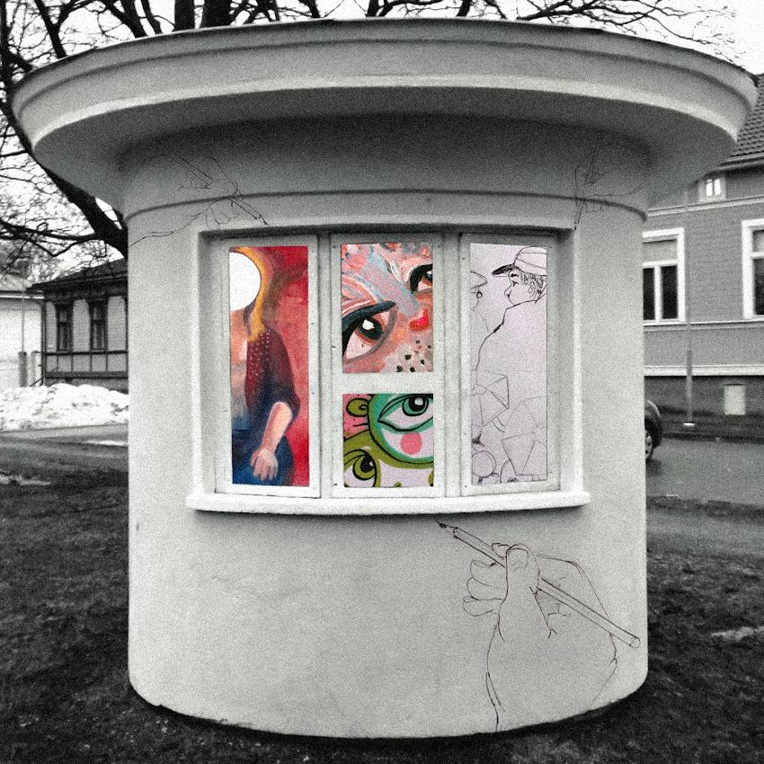 Art Kiosk Elli Maanpaa