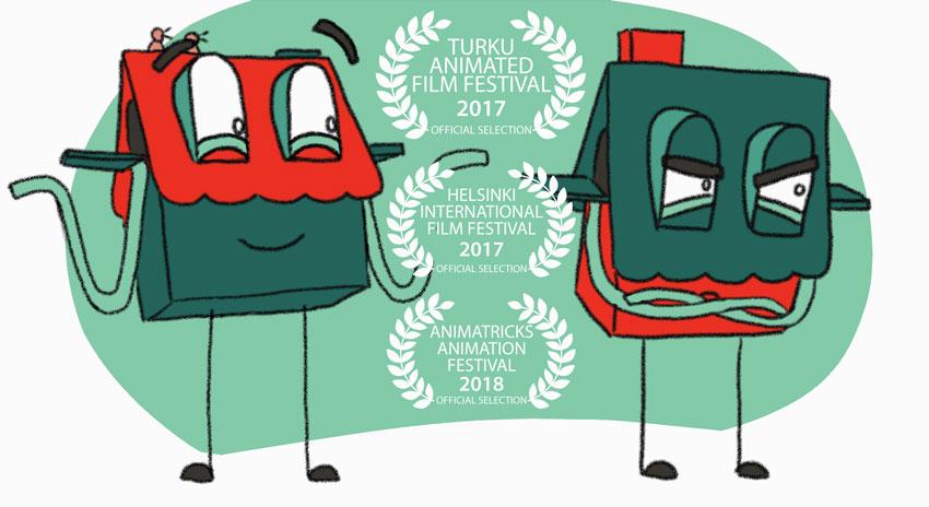 Näkökulma - Point of View // Animation short film, Elli Maanpää, 2017