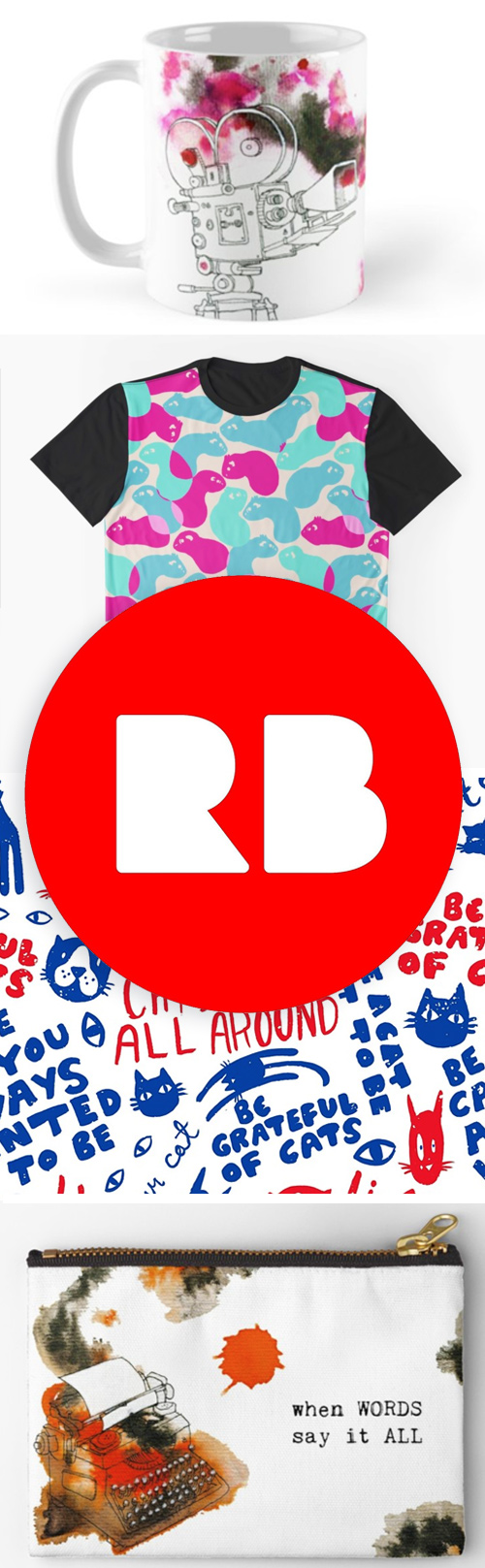 Redbubble Elli Maanpaa Shop - Cool prints and patterns for sale!
