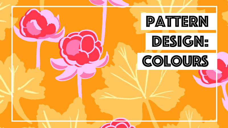 Designing Patterns: Colour // Elli Maanpää 2018