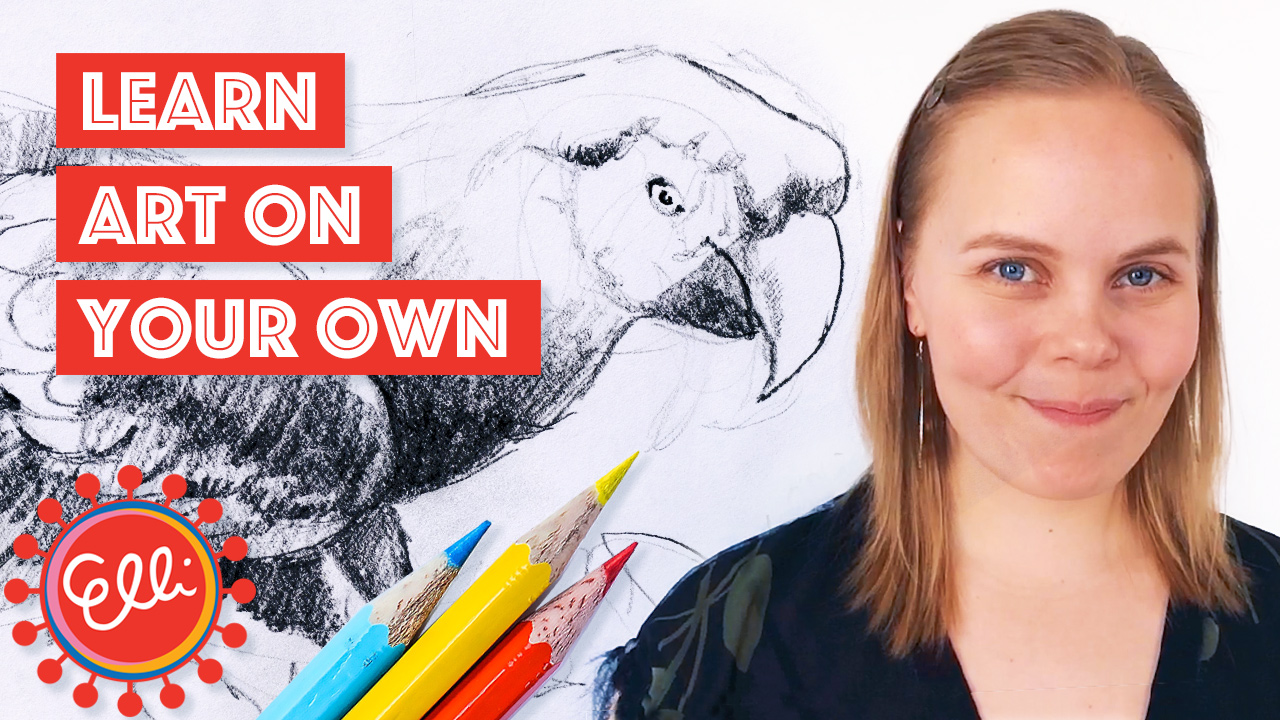 How To Learn Art // Elli Maanpää Art 2018