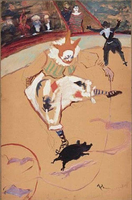 Henri de Toulouse-Lautrec: Medrano, 1888-1889