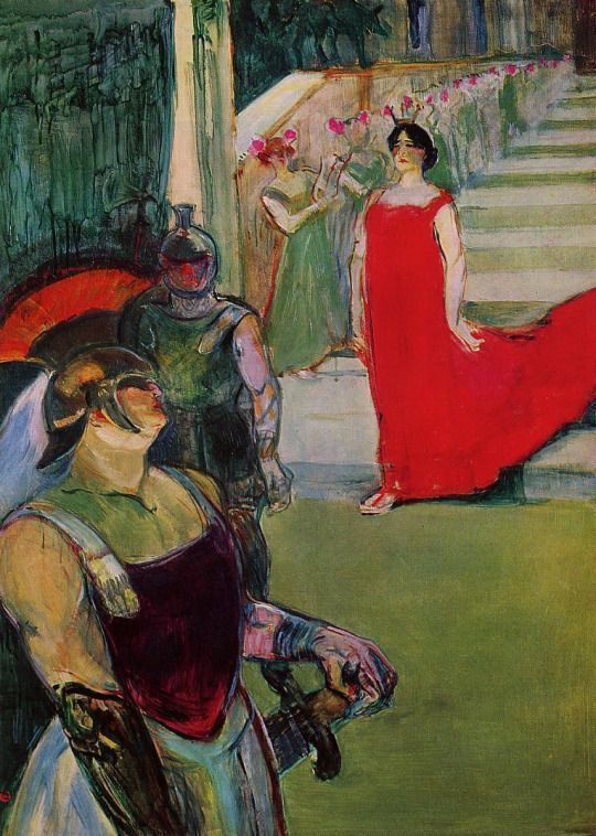 Henri de Toulouse-Lautrec: The Opera Messalina at Bordeaux, 1900-1901