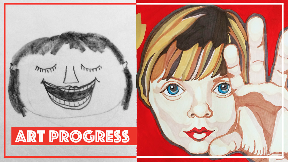 Art Progress // Aspiring Artist Elli Maanpää Blog 2018