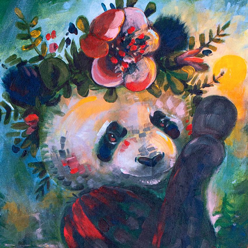 panda finland elli maanpää art taide