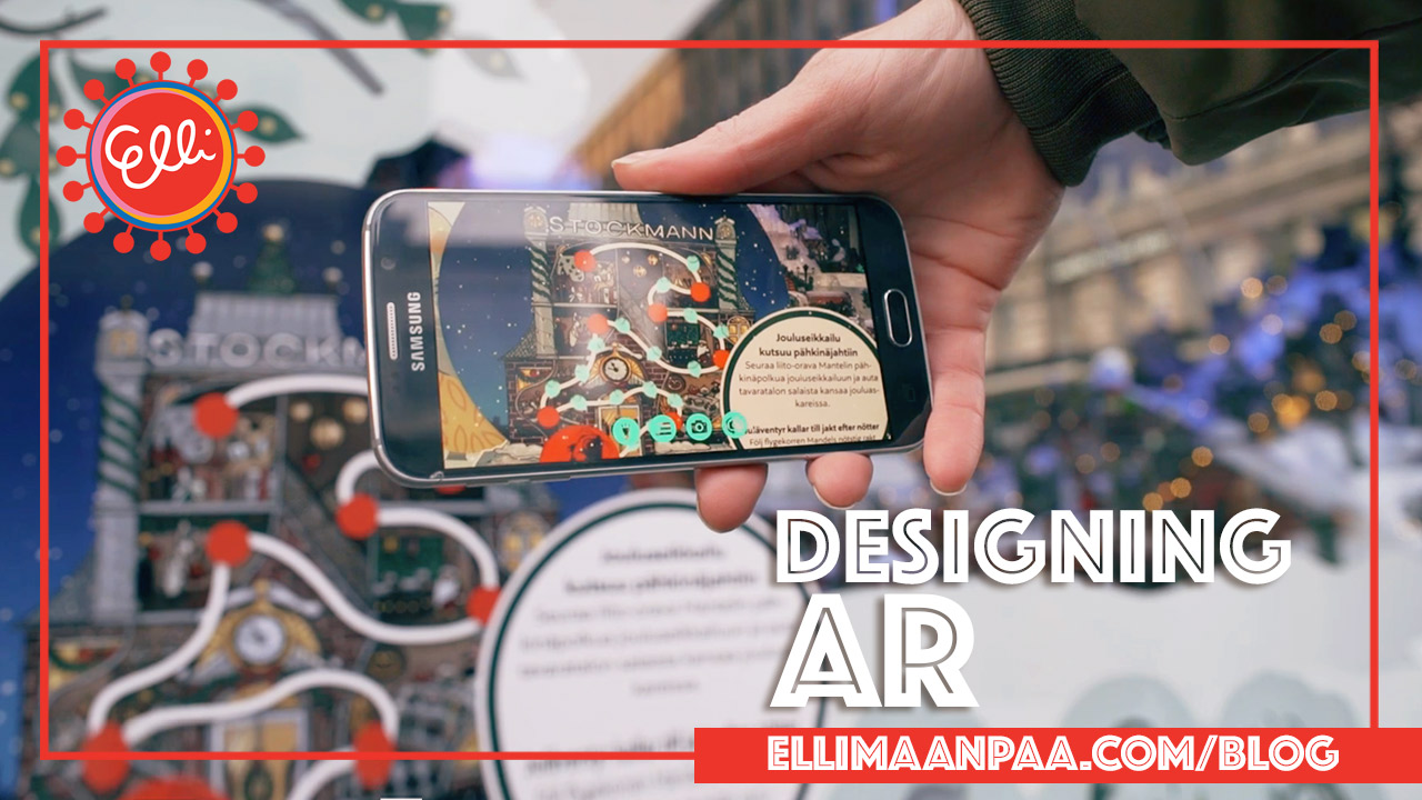 Stockmann Christmas Window 2018 // Designing Augmented Reality - Elli Maanpää 2019