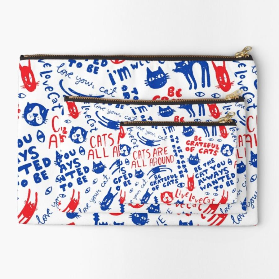 Cats Are All Around -pattern in a pouch // Elli Maanpää pattern 2016