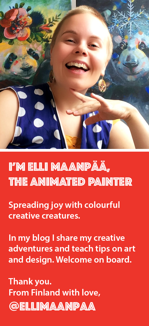 Elli Maanpaa Art Blog Profile 2019