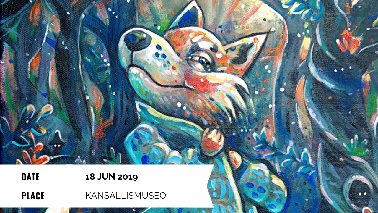 Exhibition - Elli Maanpää: Augmented Paintings - 18 Jun 2020 - Summer Yard National Museum of Finland, Helsinki Finland