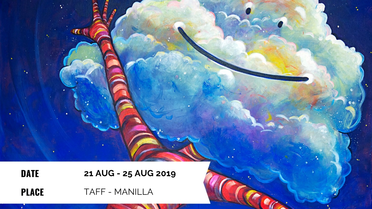 Exhibition - Elli Maanpää: Augmented Paintings in TAFF - 21 Aug - 25 Aug 2019 - Turku Animated Film Festival, Turku, Finland
