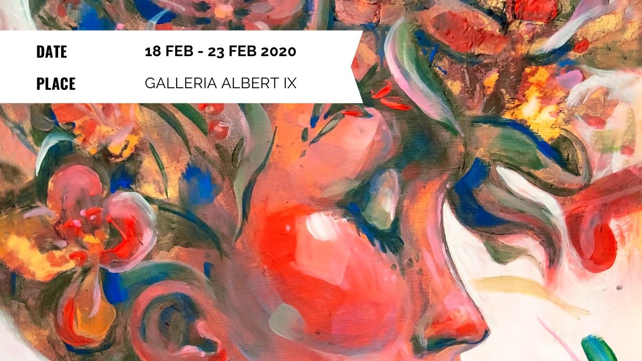 Exhibition - Elli Maanpää: Pinnan yli - 18 to 23 Feb 2020 - Galleria Albert IX, Helsinki, Finland