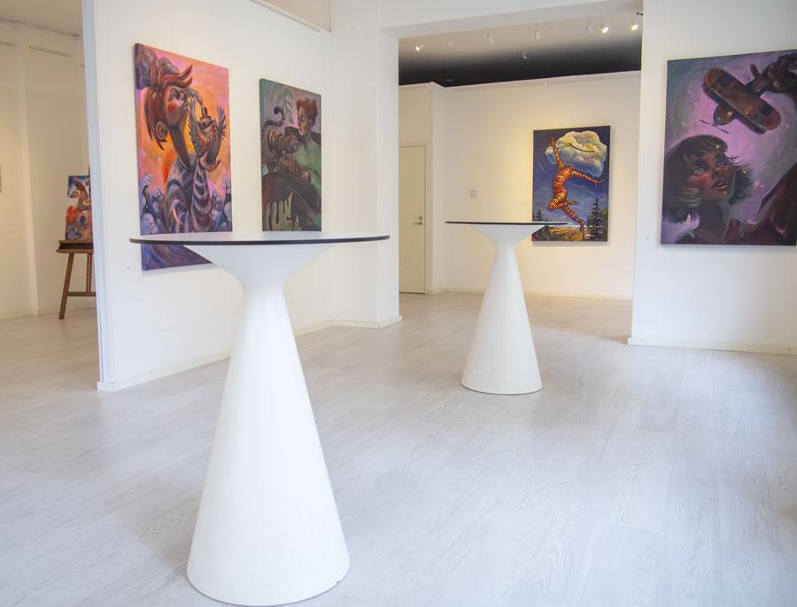Elli Maanpää: Pinnan yli, Galleria Albert IX, Helmikuu 2020