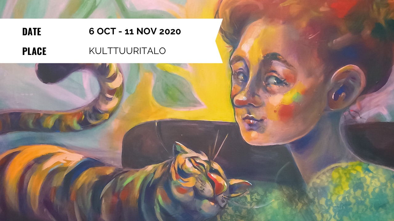 Exhibition - Group Show: Faces - 6 Oct to 11 Nov 2020 - Kulttuuritalo, Helsinki Finland