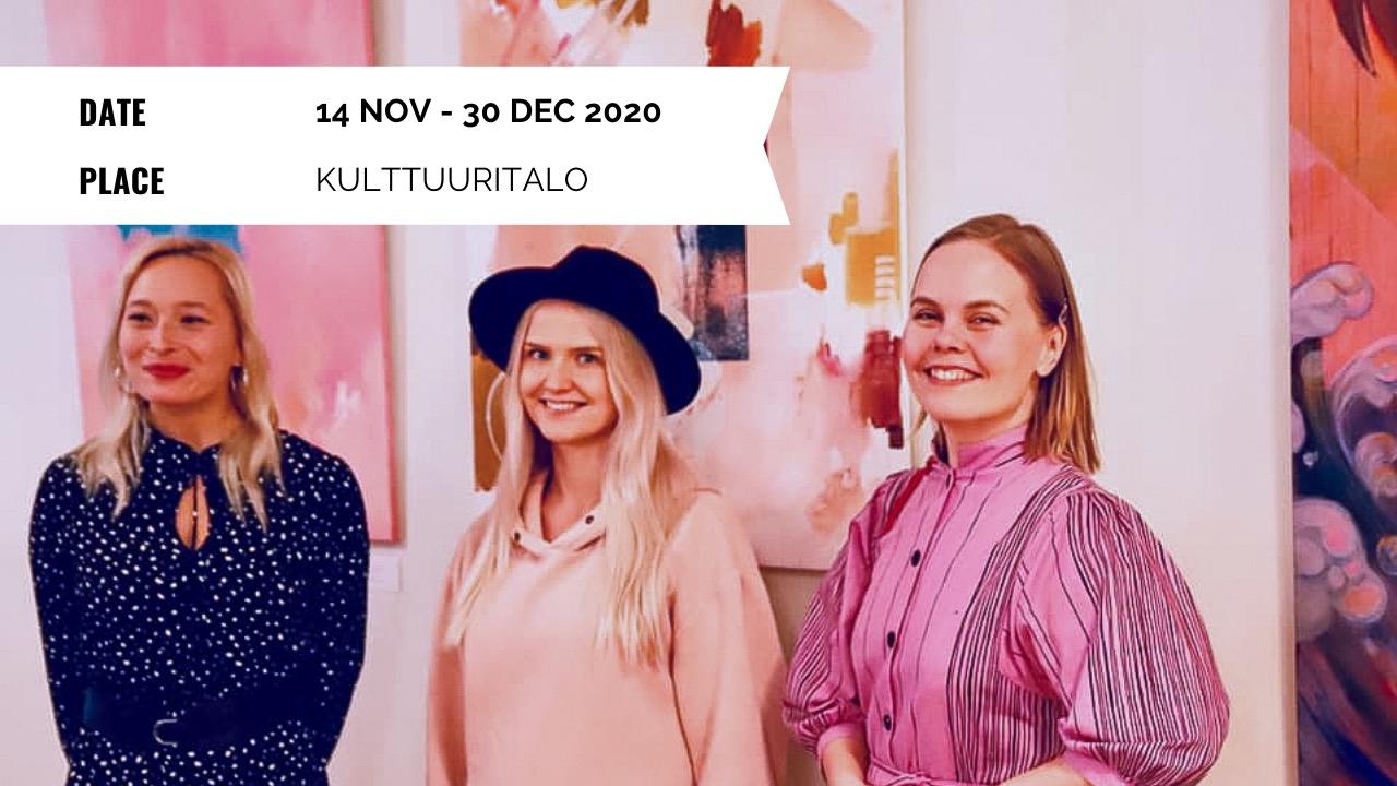 Exhibition - WABGNET: Pala pinkkiä hattaraa - 14 Nov to 30 Dec 2020 - Kulttuuritalo, Helsinki Finland