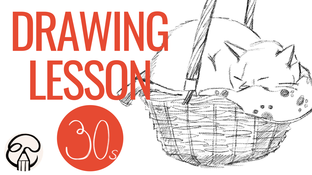 How draw from reference - 30 second tutorial by Elli's Illustration
