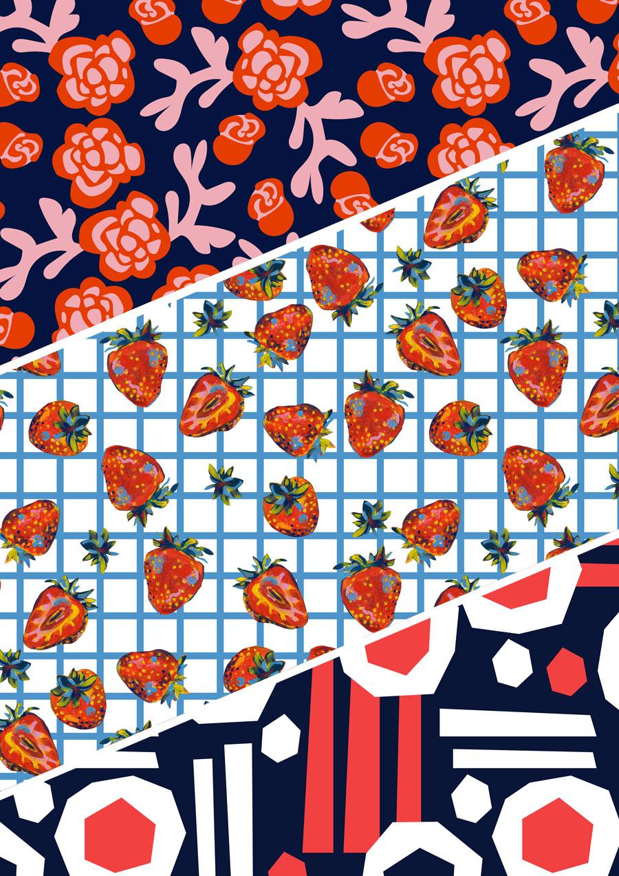 Surface Pattern Design by Elli Maanpää